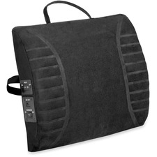 Advantus Massaging Lumbar Cushion Back/Seat Rest