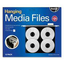 IDE FT07069 Ideastream Find It Hanging CD/DVD Pages IDEFT07069