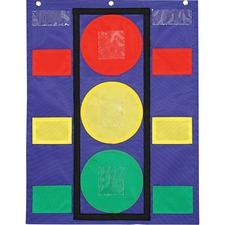 CDP 158024 Carson Colorful Pocket Stoplight Chart CDP158024