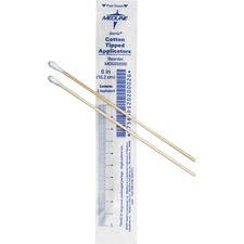 MII MDS202000 Medline Sterile Cotton-Tipped Applicators MIIMDS202000