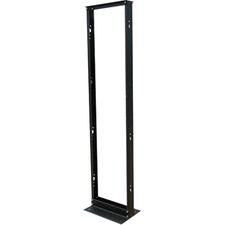 Tripp Lite TAA Compliant 45U 2-Post Black Open Frame Rack