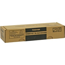 TOS TK15 Toshiba TK15 Toner Cartridge TOSTK15