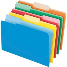 PFX 435013ASST Pendaflex Legal Size Interior File Folders PFX435013ASST