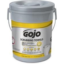 GOJ 639606 GOJO Scrubbing Wipes GOJ639606
