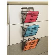SAF 4151CH Safco PanelMate Triple File Basket SAF4151CH