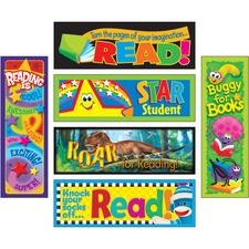 TEP T12908 Trend Reading Adventure Bookmark Combo Pack TEPT12908