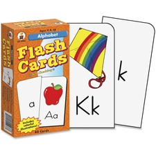 CDP CD3907 Carson PreK-Grade 1 Alphabet Flash Cards Set CDPCD3907