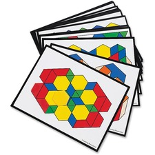 LRN LER0264 Learning Res. Pattern Block Activity Cards LRNLER0264