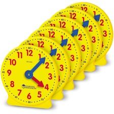 LRN LER2202 Learning Res. Pre K-4 Learning Clocks Set LRNLER2202