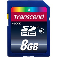 Transcend 8 GB Secure Digital High Capacity (SDHC)