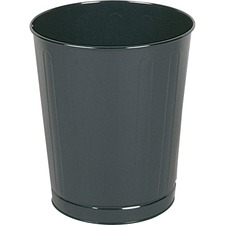 RCP WB26BK Rubbermaid WB26 Open Top Wastebasket RCPWB26BK