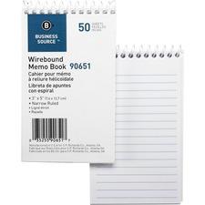 Business Source 90651 Memo Form Book
