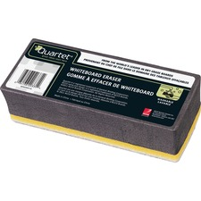 "Quartet BoardGear Markerboard Eraser - 5"" (127 mm) Width x 1.38"" (34.92 mm) Length - Washable - 1Each"