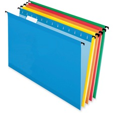 "Pendaflex SureHook Legal Recycled Hanging Folder - 8 1/2"" x 14"" - Assorted - 10% Recycled - 20 / Box"