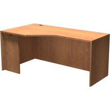 """Heartwood Innovations INV3666003 Right Extension Corner Module - 65"""" x 35.5"""" x 29"""" x 1"""" - Material: Particleboard, Wood Grain - Finish: Laminate, Sugar Maple"""