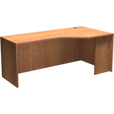 """Heartwood Innovations Extender Corner Module - 71"""" x 35.5"""" x 29"""" x 1"""" - Material: Particleboard, Wood Grain - Finish: Laminate, Sugar Maple"""