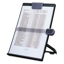 First Base Euroholder EH-17004 Easel Document Copyholder - 1 Each - Black