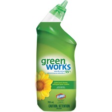 Green Works Natural Toilet Bowl Cleaner - 709 mL - 1 Each
