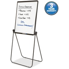 Quartet Ultima Adjustable Economy Easel Stand - Steel, Aluminum - Black