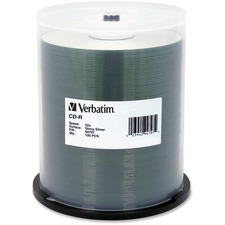 VER 94797 Verbatim 52X 80 Min. Silver CD-R VER94797