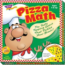TEP T76007 Trend Pizza Math Learning Game TEPT76007