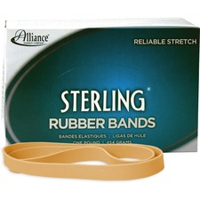 ALL25075 - Alliance Rubber 25075 Sterling Rubber Bands - Size #107