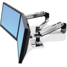 ERG 45245026 Ergotron 45245026 LX Dual Side-by-Side Arm ERG45245026