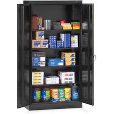 TNN 1480BK Tennsco Standard Black Storage Cabinet TNN1480BK