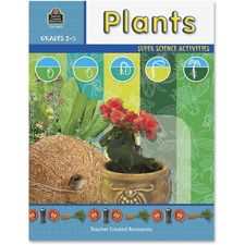 TCR 3665 Teacher Created Res. Gr 2-5 Plants Science Book TCR3665