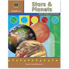 TCR 3663 Teacher Created Res. Gr 2-5 Stars/Planets Book TCR3663