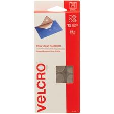 VEK 91302 VELCRO Brand Thin Clear Fasteners VEK91302