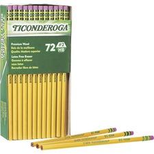 DIX 33904 Dixon Ticonderoga No. 2 Premium Wood Pencils DIX33904
