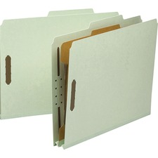 SMD 13723 Smead 1-Divider Recy. Pressbrd Classifictn Folders SMD13723
