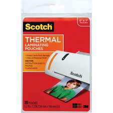 MMM TP590320 3M Scotch Thermal Laminating Pouches MMMTP590320