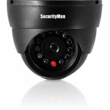 SecurityMan Dummy Indoor Dome Camera W/LED Perp