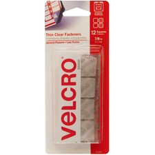 VEK 91330 VELCRO Brand Sticky-Bk Hook and Loop Fstnr Squares VEK91330