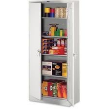 TNN 2470LGY Tennsco Light Gray Deluxe Storage Cabinet TNN2470LGY