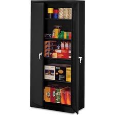 TNN 1870BK Tennsco Black Deluxe Storage Cabinet TNN1870BK