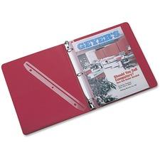 RUB T02802 Rubbermaid 3-Hole Plastic Edge Strip Magazine Hldr RUBT02802