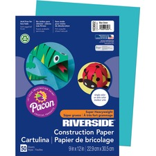 PAC 103602 Pacon Riverside Super Heavywt. Construction Paper PAC103602