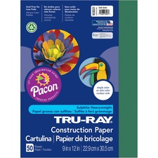 PAC 103021 Pacon Tru-Ray Heavyweight Construction Paper PAC103021