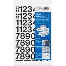 CHA 01130 Chartpak Vinyl Numbers CHA01130