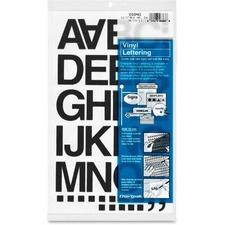 CHA 01040 Chartpak Vinyl Helvetica Style Letters/Numbers CHA01040
