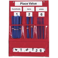 LRN LER2416 Learning Res. Counting/Place Value Pocket Chart LRNLER2416