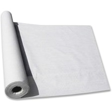 TBL LS4050WH Tablemate Nonwoven Fabric Table Roll TBLLS4050WH