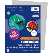 PAC 103608 Pacon Riverside Super Heavywt Construction Paper PAC103608