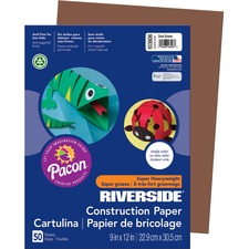 PAC 103606 Pacon Riverside Super Heavywt. Construction Paper PAC103606