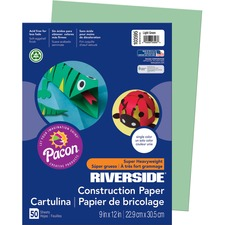 PAC 103595 Pacon Riverside Super Heavywt. Construction Paper PAC103595