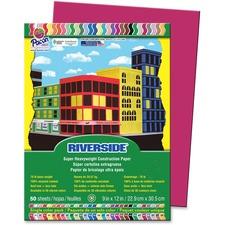 PAC 103450 Pacon Riverside Super Heavywt Construction Paper PAC103450