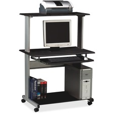 MLN 8350MRANT Mayline Eastwinds Multimedia Workstation MLN8350MRANT